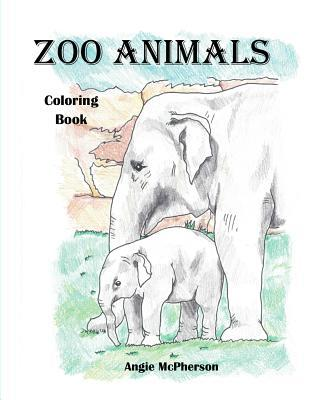 Zoo Animals Coloring Book by Angie McPherson