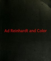 Ad Reinhardt And Color