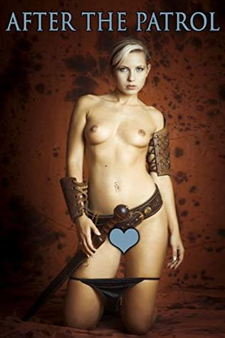 After the Patrol - XXX Fantasy Erotic Picture Book: Sexy blonde soldier is putting off her armor after patrol service and showing off her naked body. Uncensored young adult striptease photos in HD