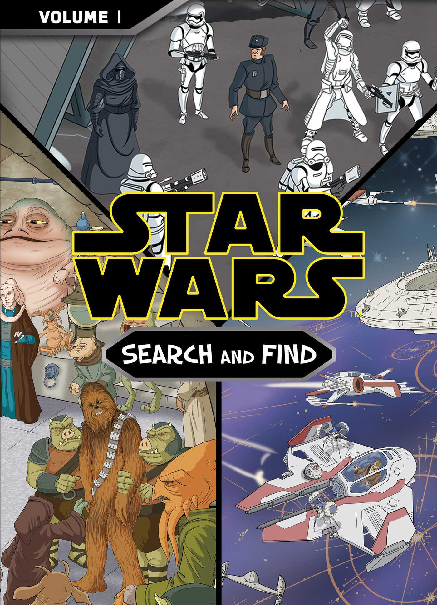 Star Wars: The Force Awakens Search and Find