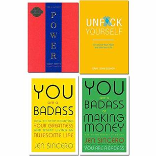 48 laws of power, unfck yourself, you are a badass, you are a badass at making money 4 books collection set