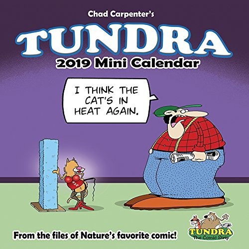 Tundra Mini 2019 Wall Calendar