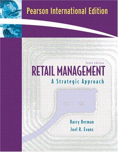 Retail Management: A Strategic Approach: International Edition