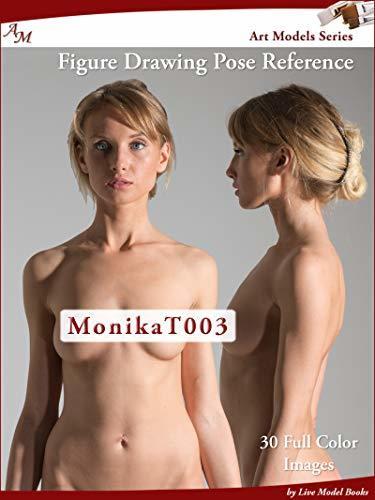 Art Models MonikaT003: Figure Drawing Pose Reference