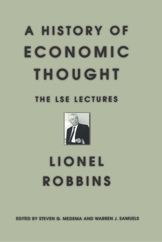 A History of Economic Thought: The LSE Lectures