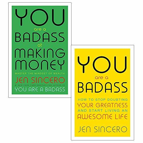 You are a badass jen sincero collection 2 books set