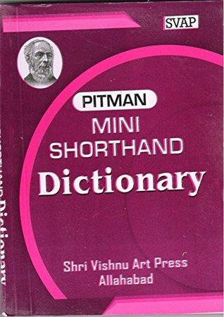 PITMAN POCKET SHORTHAND DICTIONARY