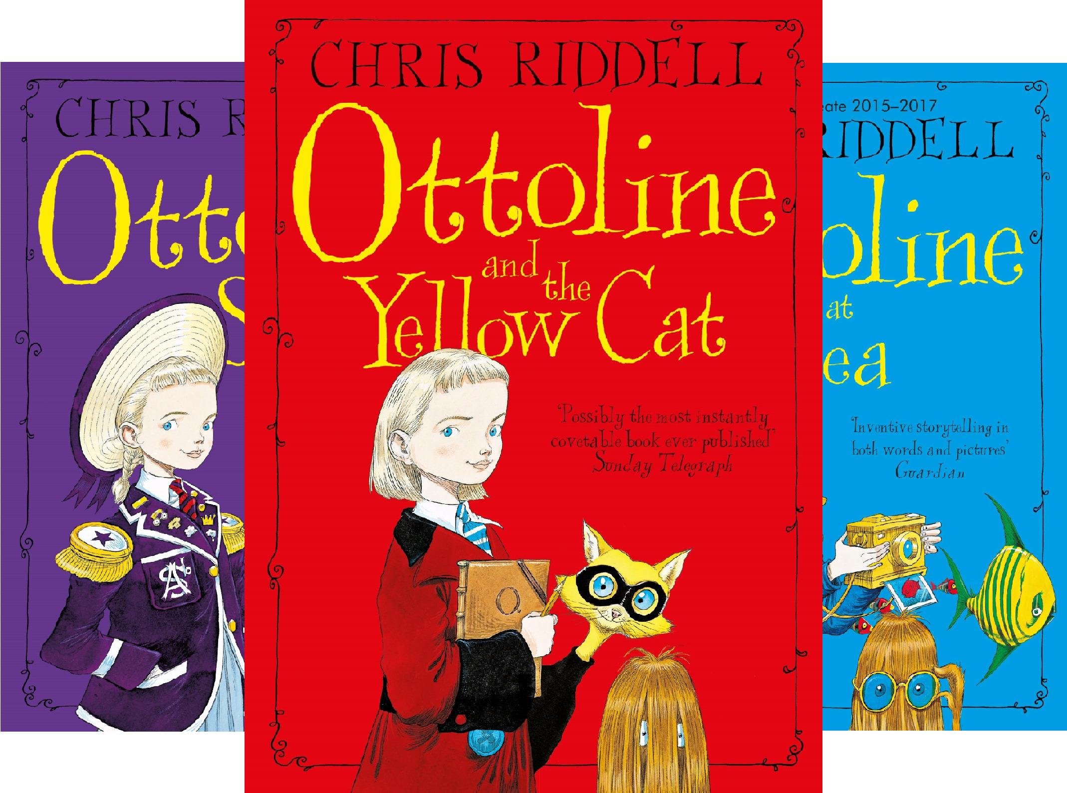 Ottoline (4 Book Series)
