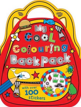 My Cool Colouring Backpack (Colouring and Sticker Books)