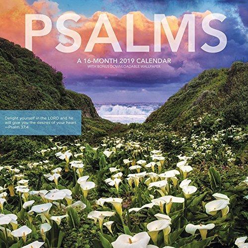Psalms Wall Calendar (2019)