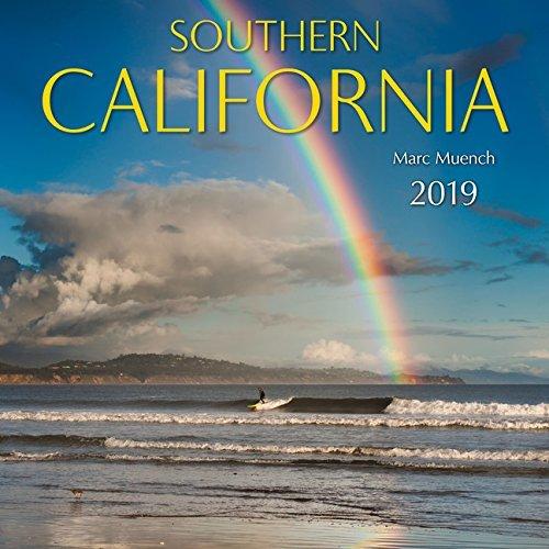 2019 South California Wall Calendar