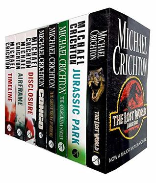 Michael crichton collection 8 books set
