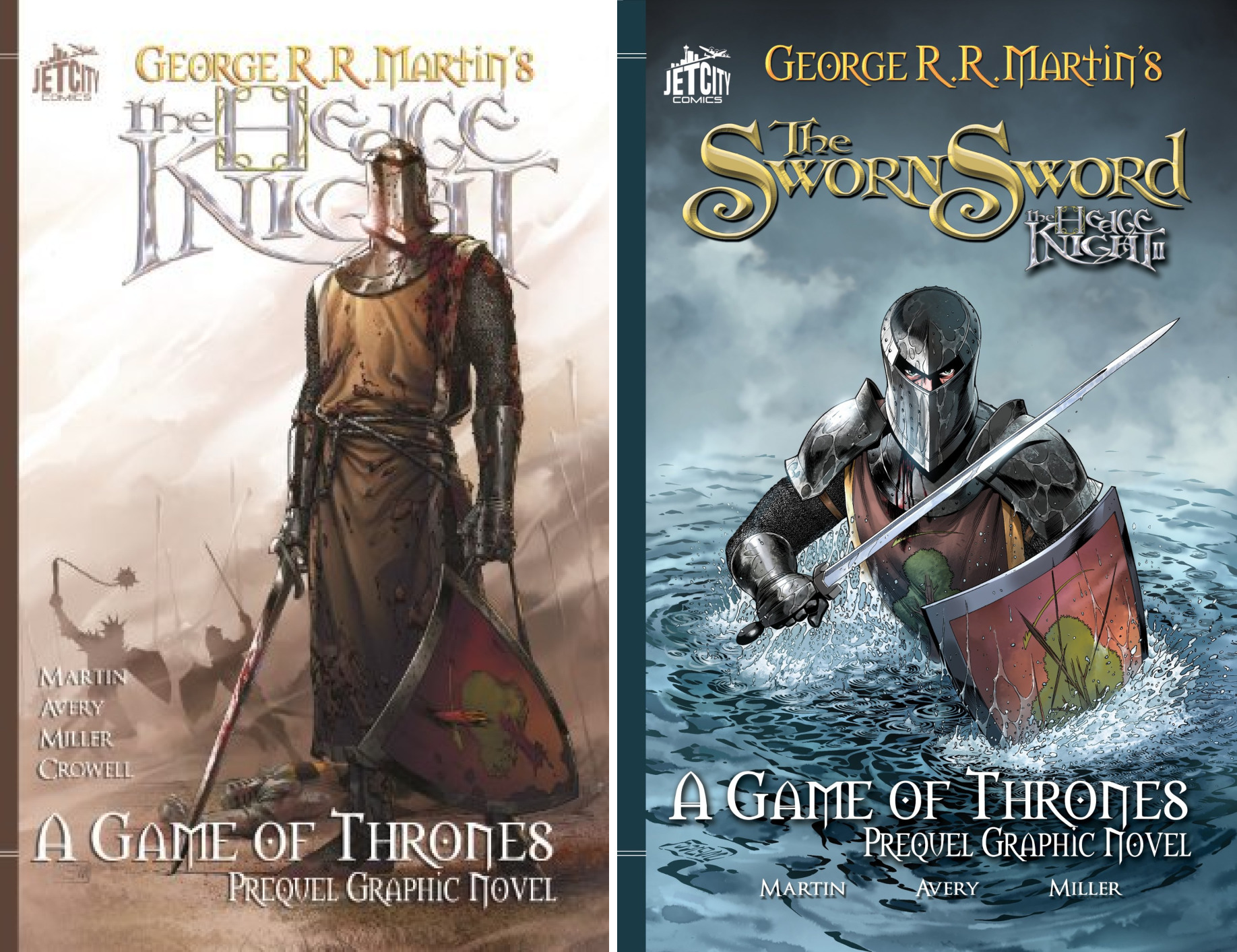 The Hedge Knight (A Game of Thrones) (Issues) (2 Book Series)