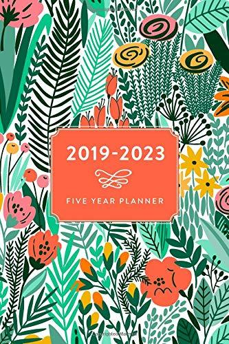 Five Year Planner | 2019-2023 (2019-2023 Five Year 60 Week Daily Weekly Monthly Planner, Organizer, Agenda and Calendar with American & UK Holidays)