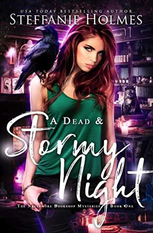 A Dead and Stormy Night (Nevermore Bookshop Mysteries, #1)