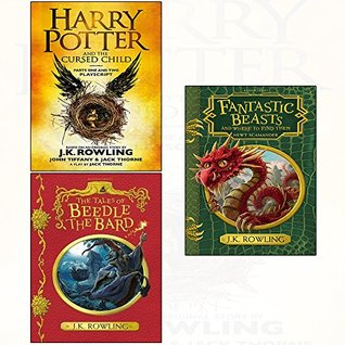 Harry Potter and the Cursed Child / Tales of Beedle the Bard / Fantastic Beasts and where to find them 3 books collection set