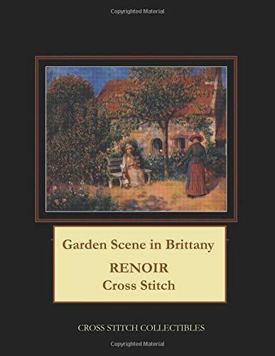 Garden Scene in Brittany: Renoir Cross Stitch Pattern