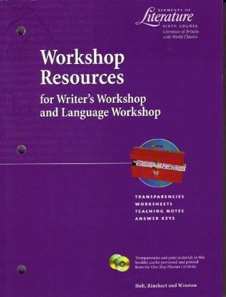 Workshop Resources for Writer's Workshop and Language Workshop