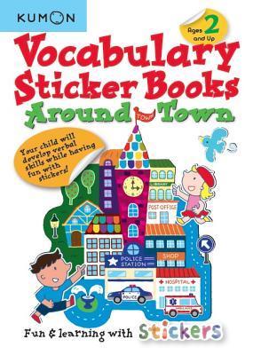 Vocabulary Sticker Books Around Town