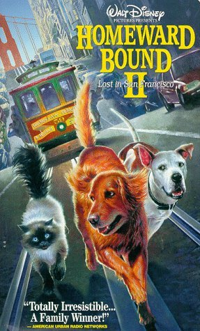 Homeward Bound II - Lost in San Francisco (Walt Disney Pictures Presents) [VHS]