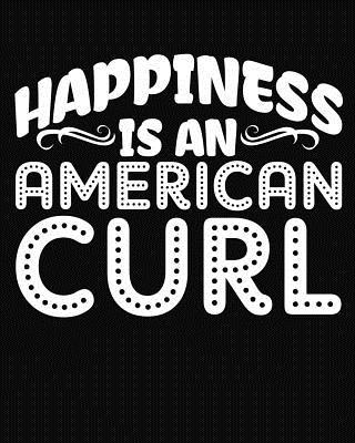 Happiness Is an American Curl: 2019 Daily Planner Calendar Goal Planner Cat Planner