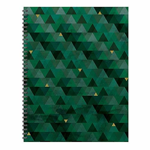 Emerald Gradient Prism Open Dated Large 9x11 Planner
