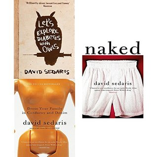 David sedaris collection 3 books set