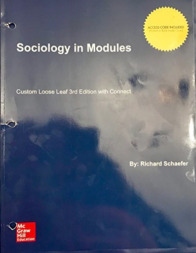 Sociology in Modules 3rd edition with Connect