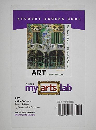 MyArtsLab -- Standalone Access Card -- for Art: A Brief History (4th Edition)