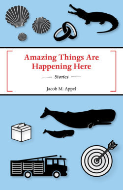 Amazing Things Are Happening Here by Jacob M. Appel
