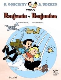 portada del cómic juvenil de aventuras Todo Benjamín y Benjamina