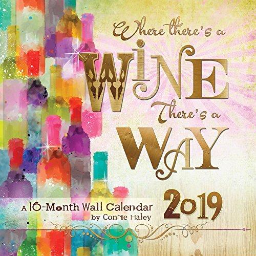 2019 Wine Connie Haley Wall Calendar