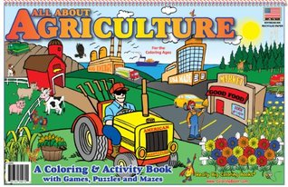 All About Agriculture Coloring Book (17x11)