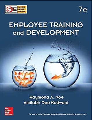 Employee Training And Development 7Th Edition [Paperback] Noe