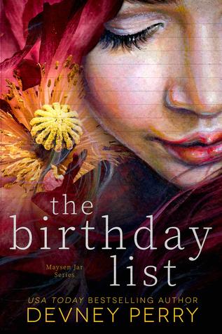 The Birthday List (Maysen Jar, #1)