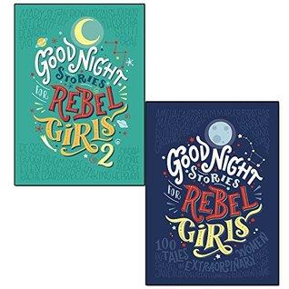 Elena favilli good night stories for rebel girls 1 & 2 collection 2 books set