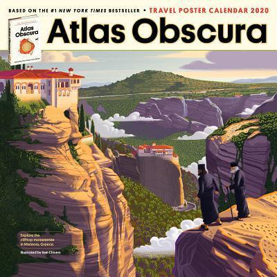 Atlas Obscura Wall Calendar 2020