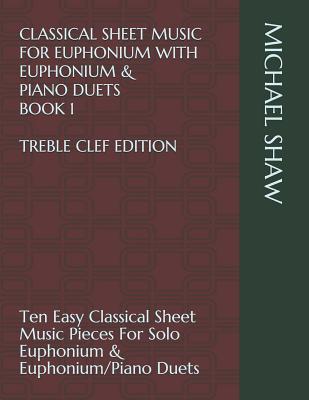 Classical Sheet Music For Euphonium With Euphonium Piano Duets
