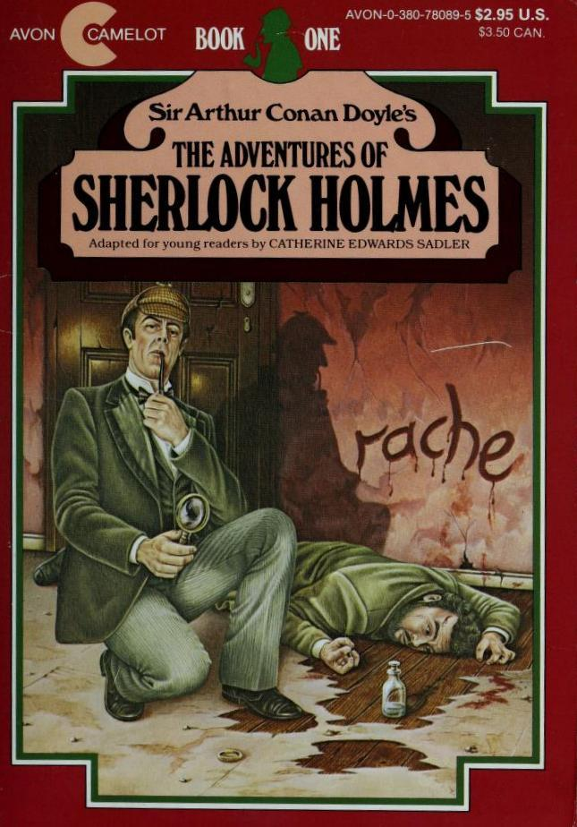 Sir Arthur Conan Doyle's The Adventures of Sherlock Holmes: Book One