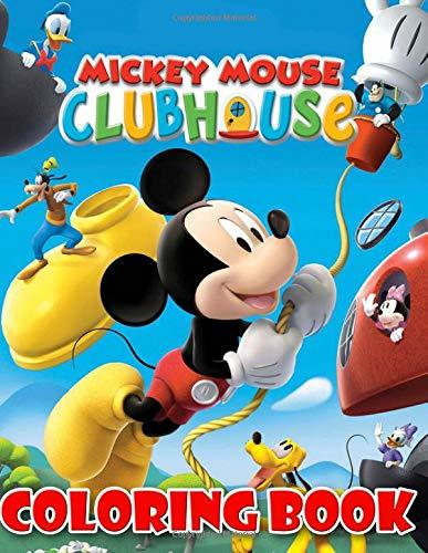Mickey Mouse coloring book: Mickey and his friends coloring pages for kids and adults
