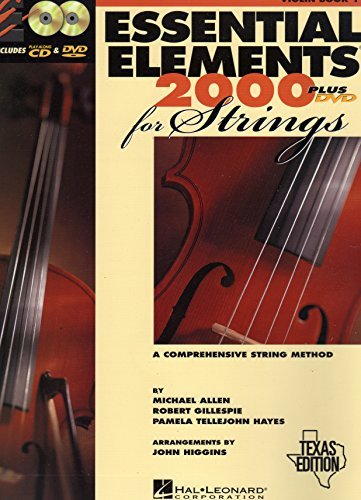 Essential Elements 2000 for Strings (Violin Book 1) Texas Edition