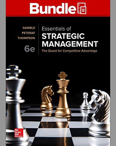 GEN COMBO LOOSELEAF ESSENTIALS OF STRATEGIC MANAGEMENT; CONNECT ACCESS CARD