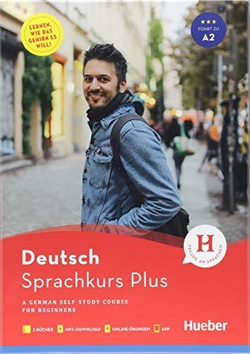 Sprachkurs Plus Deutsch A1/A2, Englische Ausgabe: A German Self-Study Course for Beginners / Buch mit Begleitbuch, Online-Übungen, MP3-Download und App