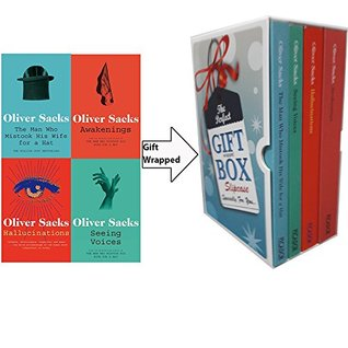 Oliver Sacks Collection 4 Books Bundle Gift Wrapped Slipcase Specially For You