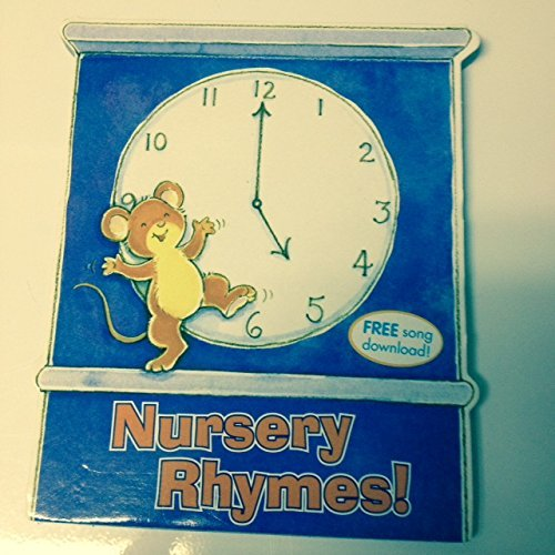 Kids Song Board books: The Wheels on the Bus, Nursery Rhymes!