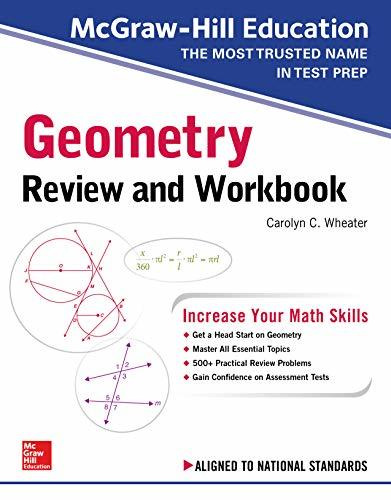 McGraw-Hill Education Geometry High School Review and Workbook
