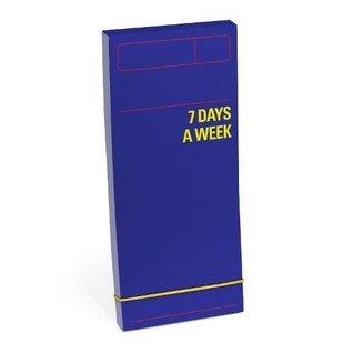 Knock Knock 7 Days a Week Planner (Purple) (Notebook/Calendar)