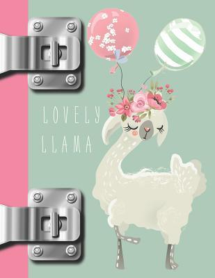 Lovely Llama: My Bohemian Style College Ruled Composition Writing Notebook