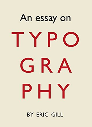 An Essay on Typography