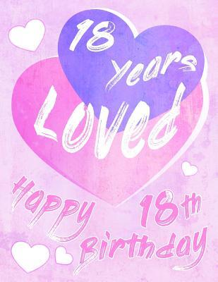 Happy 18th Birthday 18 Years Loved Say And Show Your Love All